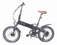E-Bike in schwarz matt