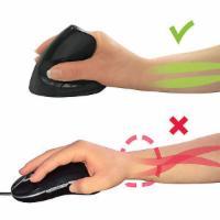 Ergonomische USB Maus