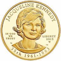 Goldmünze Jacqueline