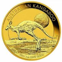 Goldmünze Känguru