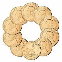 Goldmünze Krügerrand 10er