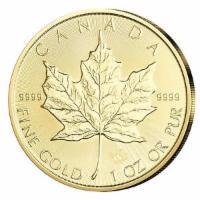 Goldmünze Maple Leaf 1oz