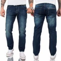 Herren Jeans Hose Regular