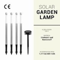 IBV 4er Set LED Solar