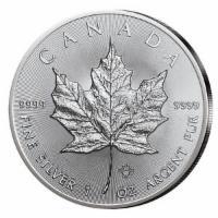 Kanada Maple Leaf 5$ 2018