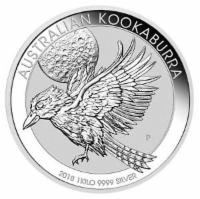 Kookaburra Silber 1 kg