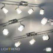 LED-Deckenbalken KUBUS /
