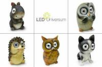 LED Solar Tiere