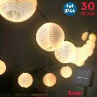Lichterkette Solar Außen
