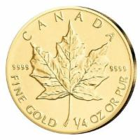 Maple Leaf Gold 1/4 oz