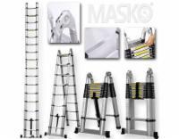 Masko® Teleskopleiter,