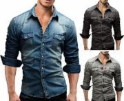 MERISH Jeanshemd Jeans