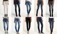 Neue Damen Superdry Jeans