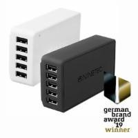 NINETEC 40W 5-Port USB