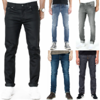 Nudie Herren Slim Fit