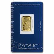 Pamp Suisse-Goldbarren, 5