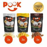 POOK Kokosnuss-Chips Set