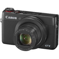 PowerShot G7 X schwarz