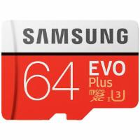 SAMSUNG Evo Plus, 64 GB,