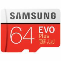 SAMSUNG Evo Plus, 64 GB,