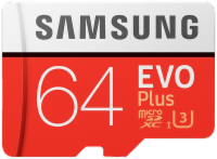 SAMSUNG Evo Plus, 64 GB