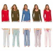 Schiesser Damen Pyjama