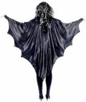 schwarze Vampir Flügel