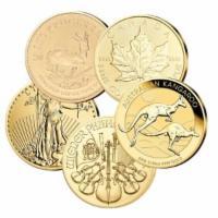 Set Gold 5 Stück 1/10 oz
