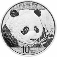 Silbermünze China Panda