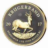 Silbermünze Südafrika 1