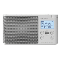 SONY XDR-S 41 D Radio in