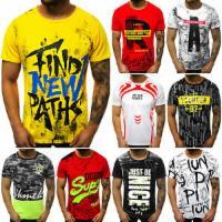 T-Shirt Kurzarm Print