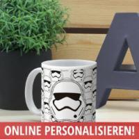 Tasse Star Wars mit Name