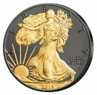 USA Silber Eagle 2018 bfr