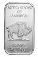 USA Silberbarren Buffalo