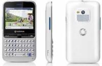 Vodafone 555 Blue, White