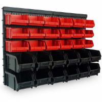 Wandregal + Stapelboxen