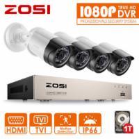 ZOSI 4CH 1080P DVR 2MP