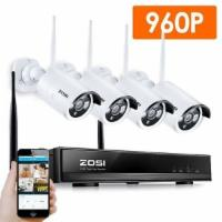 ZOSI 4CH 960P HD Wireless