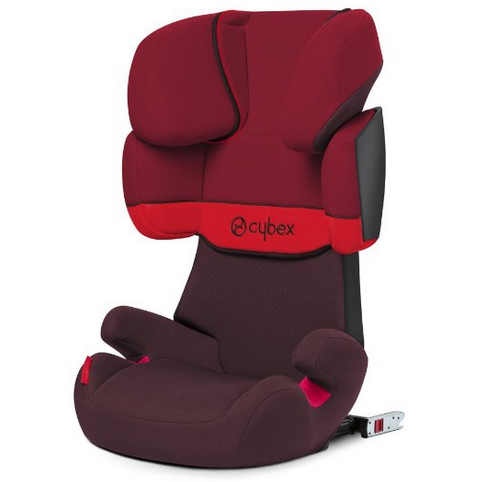 cybex silver kinderautositz solution x fix gruppe 2 3 15 36 kg kollektion 2015 rumba red. Black Bedroom Furniture Sets. Home Design Ideas