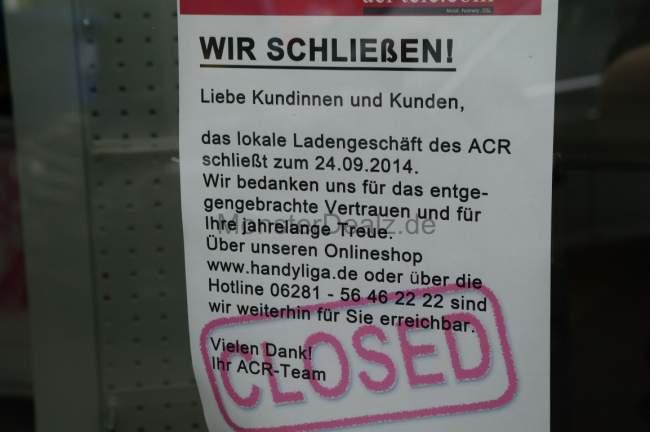 acr-tele.com Filiale geschlossen 2