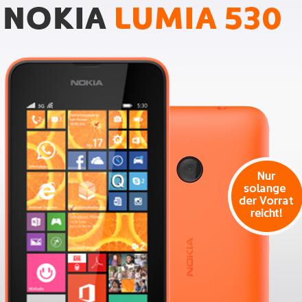 nokia lumia 530 inkl simyo talk 200 f r 4 90 monat. Black Bedroom Furniture Sets. Home Design Ideas