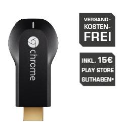 Chromecast Gutschein