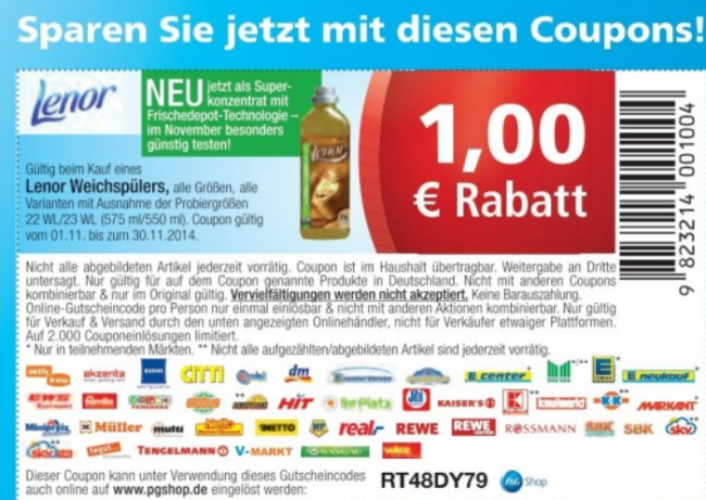 Wo gibts coupons
