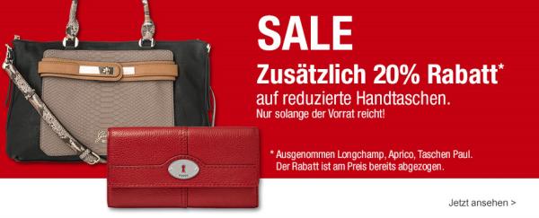 66ccdbecdd817 Zum Start ins neue Jahr bietet euch galeria-kaufhof 20% Rabatt auf  Handtaschen