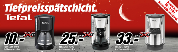 tefal kaffeemaschinen ab 10 bei mediamarkt. Black Bedroom Furniture Sets. Home Design Ideas