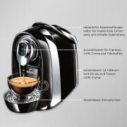 super cafissimo compact black 2x kapselhalter 182. Black Bedroom Furniture Sets. Home Design Ideas
