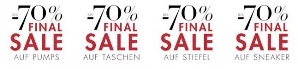 final sale mit bis zu 70% Rabatt bei amazon