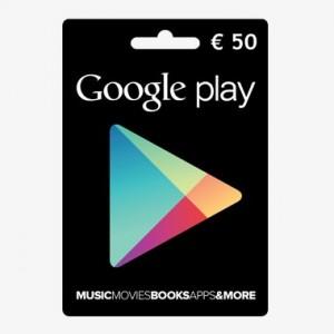 google play 50€ guthaben günstig kaufen