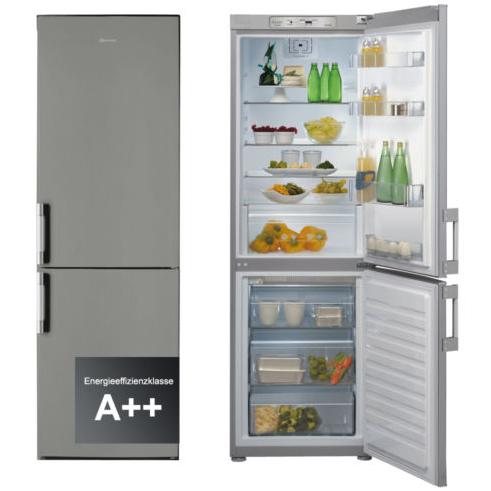 Bauknecht kgn 20 in a2 nofrost kuhl gefrierkombination for Nofrost kühlschrank